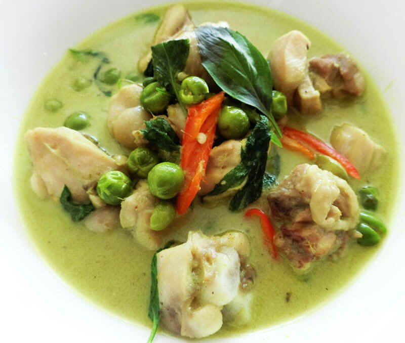 Green Curry - Kaeng Khiew Whan - Phuket Cooking Class