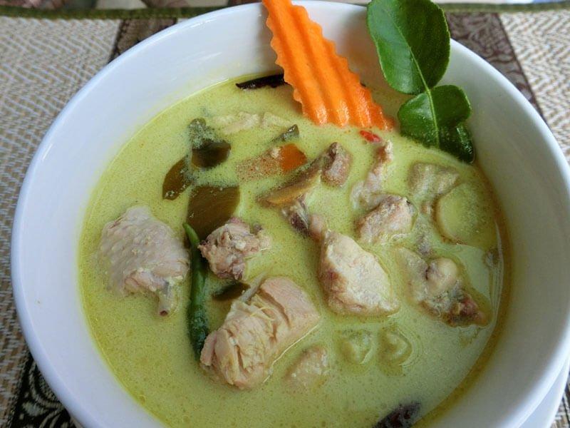 Tom Kha Gai - Phuket Cooking Class