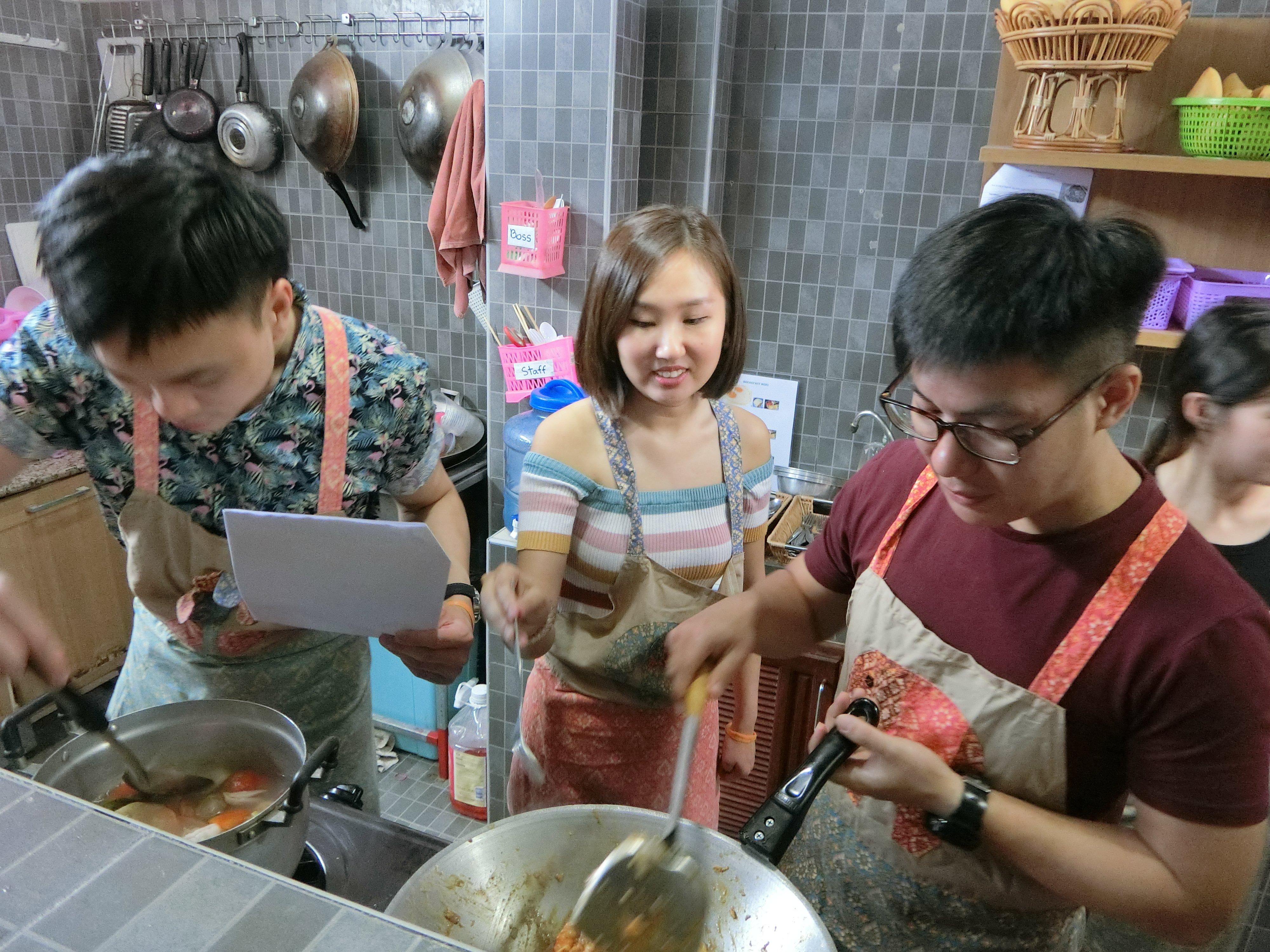 Team building Thai Cooking